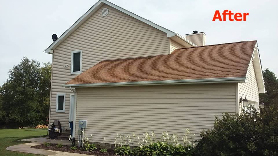 Roof Cleaning Company Professional Services By Saber